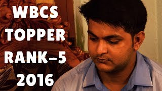 Featuring Mr. Debjit Dutta, WBCS TOPPER (Rank-5), 2016 Only At Zero-Sum