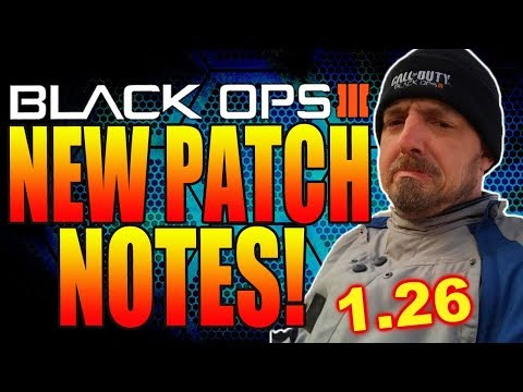 BLACK OPS 3 NEW DECEMBER UPDATE! 1.26 PATCH NOTES! COD BLACK OPS 3 UPDATES! BO3 XMC & VMP NERFED!