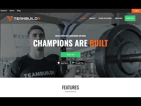 How Athletes Can Join TeamBuildr