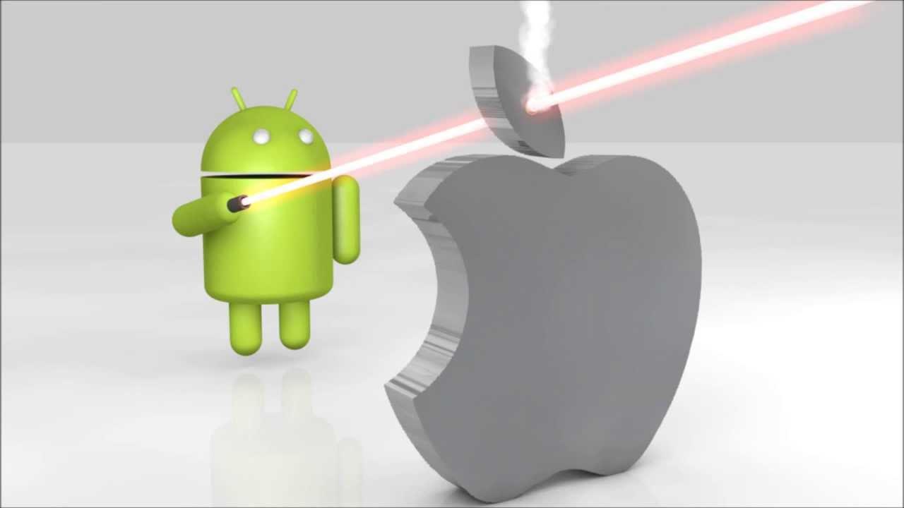 droid kills iphone - youtube