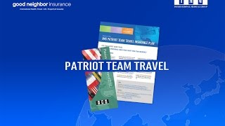 Patriot Group Travel Insurance - Why we like it!