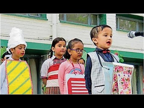 KB DAV School Pupils Come Dressed As Combs, Soaps In Chandigarh
