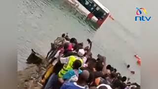 Likoni accident: Driver and conductor saved from sinking tour bus