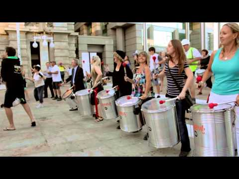 Wasamba Flash Mob - Forrest Chase