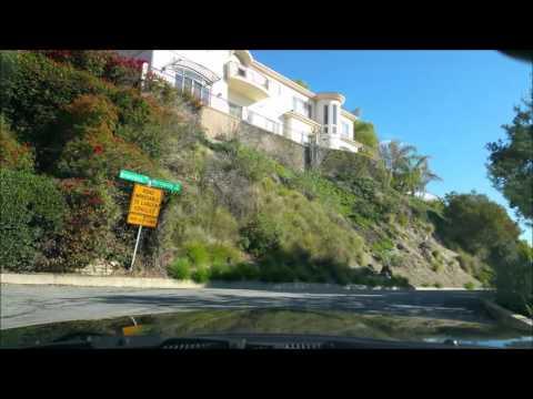Pasadena - La Canada Flintridge - Palmdale Road Movie