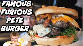 Mountain Sized Burger Challenge! Huge Alpine Burger | Man Vs Food