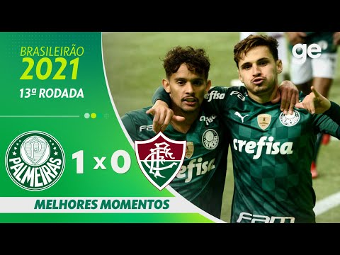 PALMEIRAS 1 X 0 FLUMINENSE | MELHORES MOMENTOS | 13ª RODADA BRASILEIRÃO 2021 | ge.globo