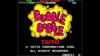 the history of bubble bobble