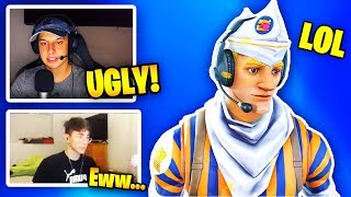 STREAMERS REACT TO *NEW* GRILL SERGEANT SKIN! (RARE SKIN) | Fortnite Battle Royale
