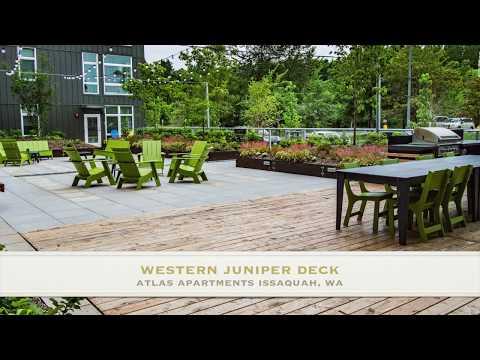 Sustainable Northwest Wood - Restoration Juniper - Atlas Apts Community Area