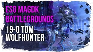 ESO Magicka DK Deathmatch Battlegrounds (No Death)