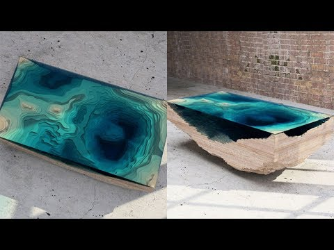 Amazing DIY How To Make Epoxy Resin Table Ideas | Very Artistic Work