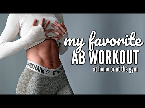 TRAIN ABS AT HOME OR AT THE GYM | My Favorite Killer Toning Ab Workout