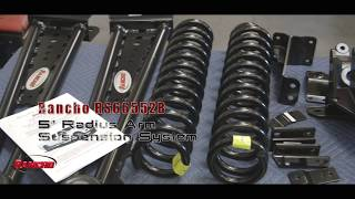 "Rancho 5""  radius arm suspension system install on a 2017 Ford F-250 PN RS66552B"