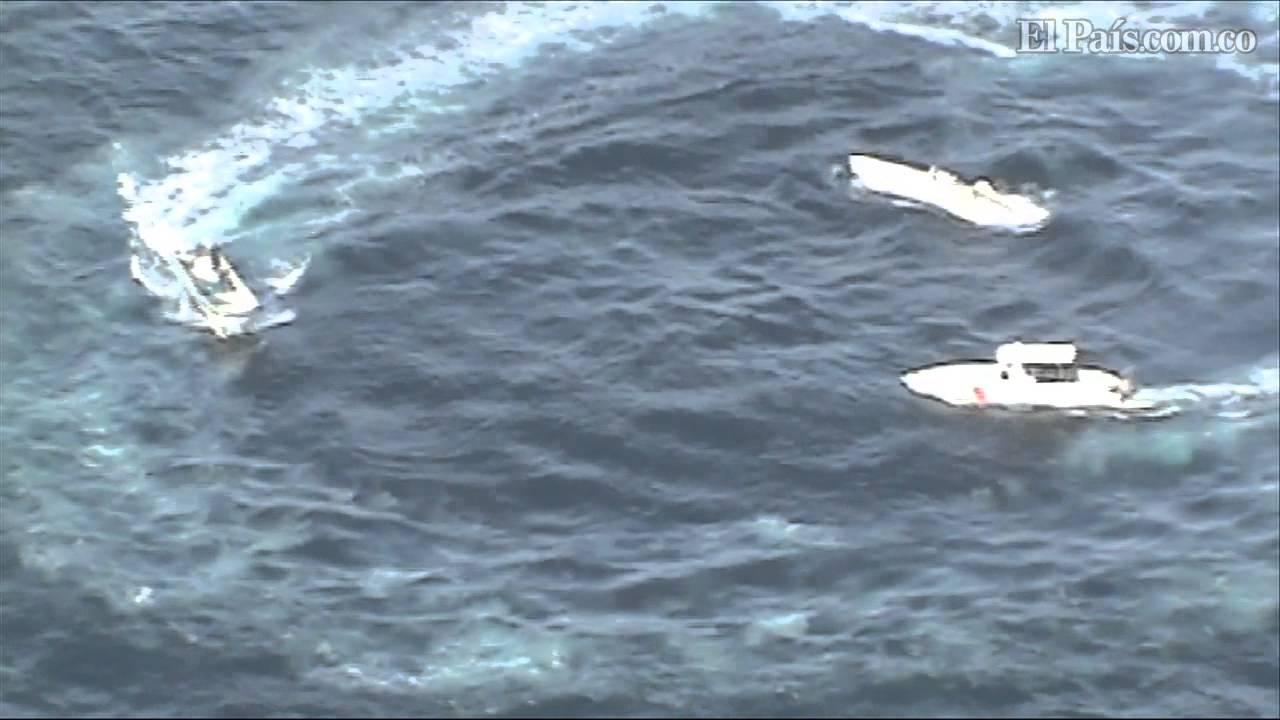 Decomisan en el Pacífico primer semisumergible del 2013
