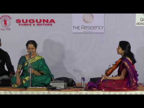 Gayathri Venkatraghavan l Carnatic Music Concert l  Bharat Sangeet Utsav 2017, Coimbatore
