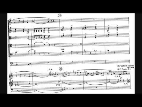 Francis Poulenc - Concerto for Organ, Timpani and Strings in G minor