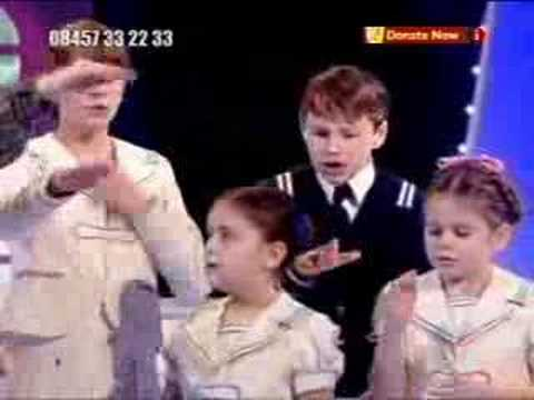 The sound of Music on Children in need 06