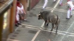Blutiger Auftakt bei der Stierhatz in Pamplona