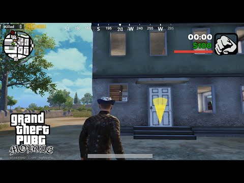 IF PUBG MOBILE WAS MADE BY ROCKSTAR GAMES(GTA SAN ANDREAS) | AVP GAMING |