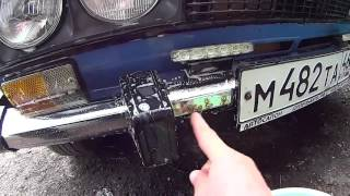 Убираем ржавчину с бампера ВАЗ 21061