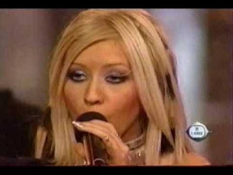 Christina Aguilera - Genie In A Bottle (Live At MTV 2large)