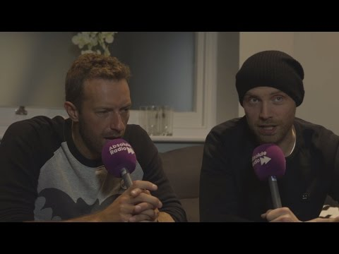 Coldplay at the London Palladium: Interview with Chris Martin and Jonny Buckland