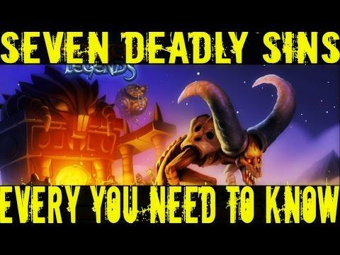 Monster Legends | Seven Deadly Sins Maze Island | Maze Monster Analysis + Island Explanation