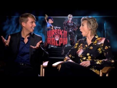 WRECK-IT RALPH Exclusive Cast Interviews Jane Lynch, Jack McBrayer, John C Reilly, Sarah Silverman