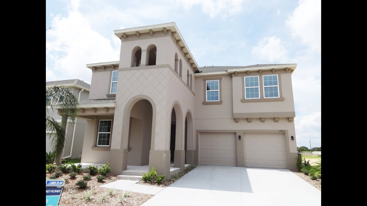 By Ryland Homes Waverly Model Winter Garden New Homes YouTube