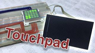 Сенсорная клавиатура из тачпада от ноутбука! DIY
