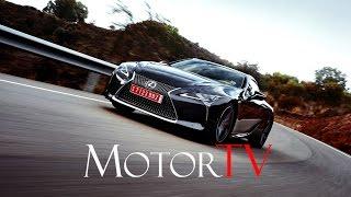 NEW 2017 Lexus LC 500 l Driving Scenes