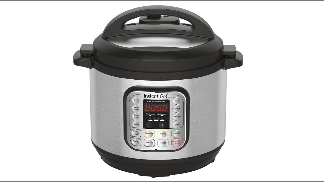 Instant Pot DUO80 8Qt 7 in 1 Multi Use Programmable Pressure Cooker Slow Cook