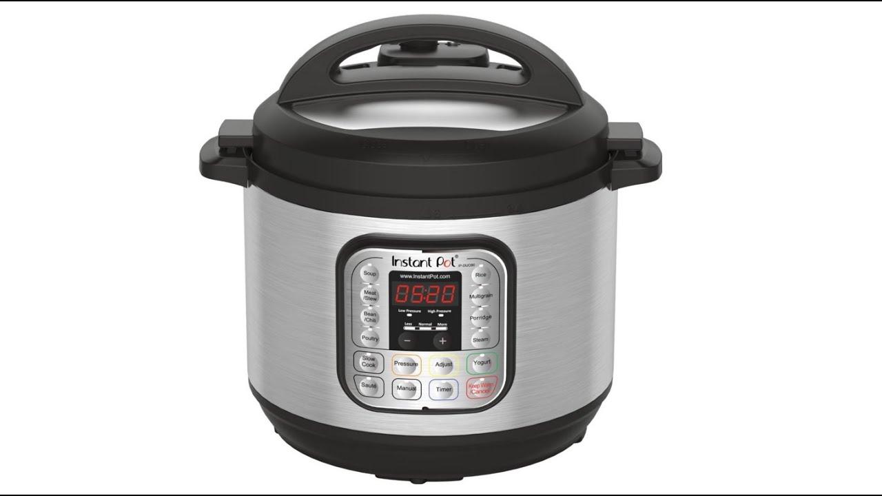 Instant Pot IP DUO80 7 in 1 Programmable Electric Pressure Cooker 8 Quart