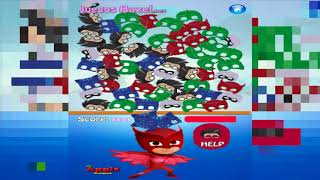 PJ Masks Connect Heroes Owlette Gekko Catboy and Romeo Fun Game For Kids