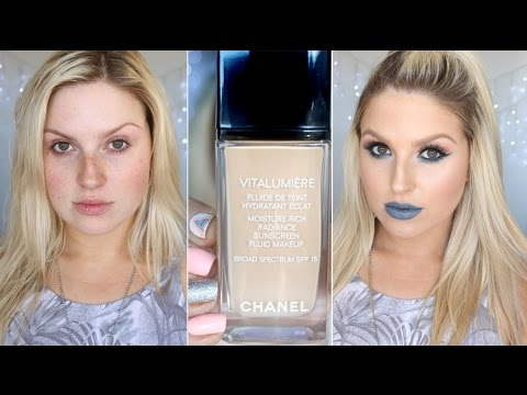 First Impression ♡ Chanel Vitalumiere Foundation + Stila Perfect & Correct Foundation