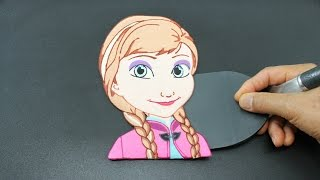 PANCAKE Disney Frozen Princess Anna by Tiger Tomato