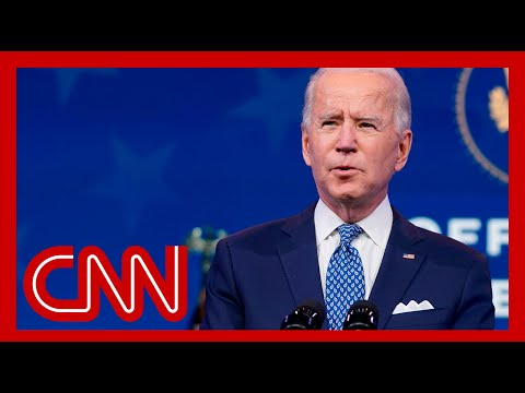 Biden answers questions about pandemic and cyberattack