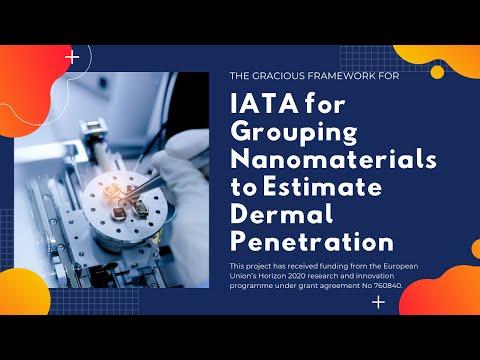 IATA for Grouping Nanomaterials to Estimate Dermal Penetration