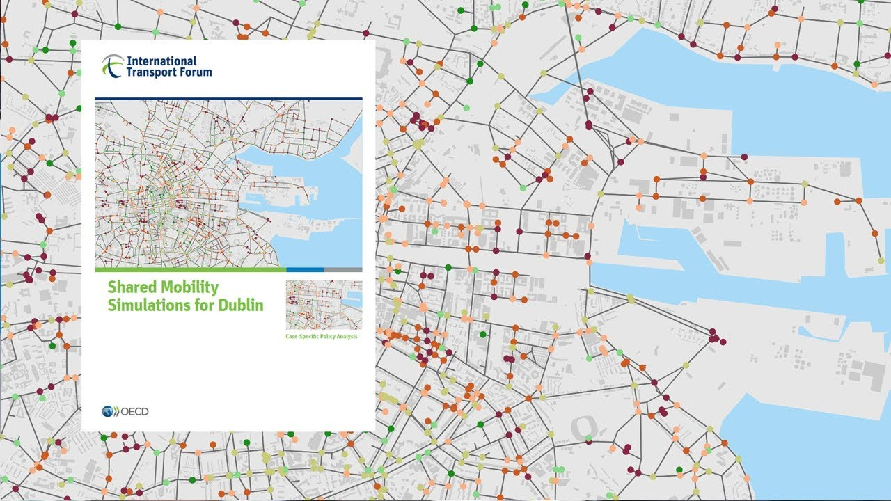 Shared Mobility Simulations for Dublin | ITF