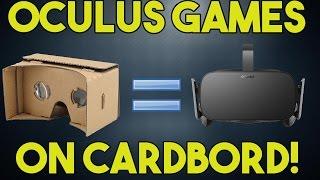 Vridge - Turn Your Google Cardboard into an Oculus Rift!