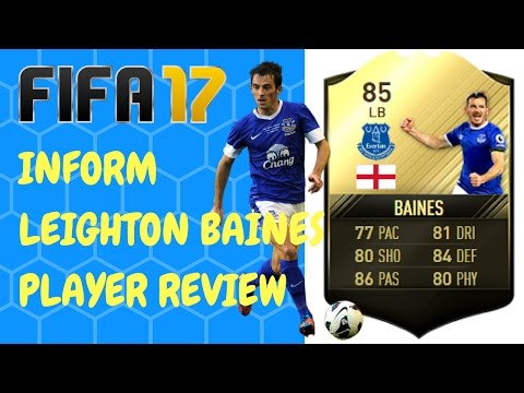 FIFA 17 INFORM Leighton Baines PLAYER REVIEW - Best LB in the prem?