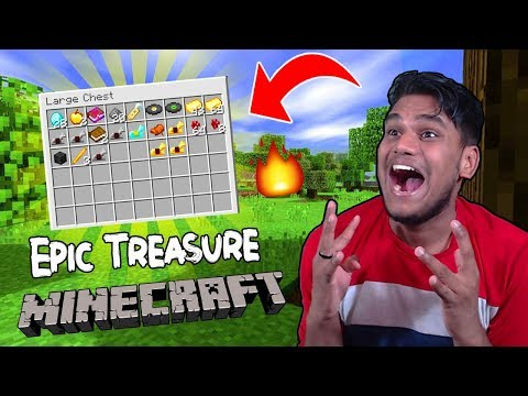 My First Epic Treasure Adventure in Minecraft.......