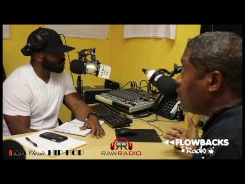 Professor Daddy-O (of Stetsasonic) Interview - Flowbacks Radio presented by Raw Radio