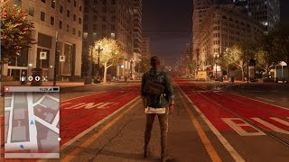 Watch Dogs 2 - Night Gameplay | Free Roam Gameplay (PC HD) [1080p60FPS]