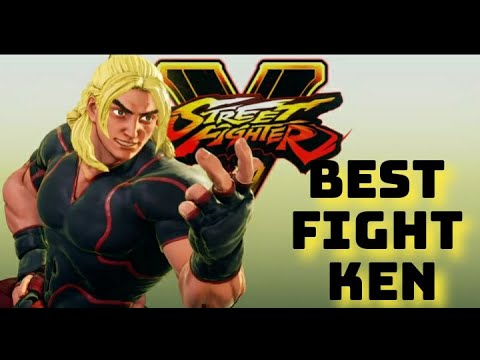 street fighter V / KEN fights/shout out the viewers |