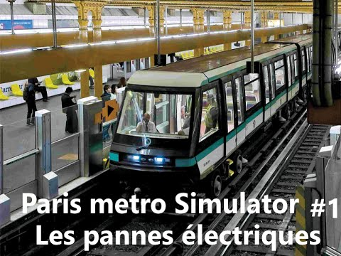 paris metro simulator 1 les pannes lectriques youtube. Black Bedroom Furniture Sets. Home Design Ideas