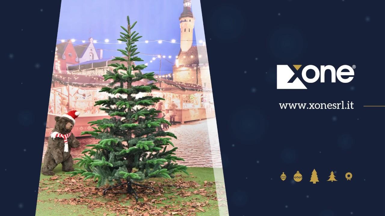 Albero Di Natale H 240.Albero Di Natale Abete In Pe Pvc Realistico H 180 210 240 Cm
