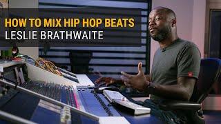 How to Mix Hip Hop Beats | Leslie Brathwaite (Pharrell Williams)