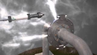 Устранение утечки рабочей среды на трубопроводах, без отключения технологического оборудования.(, 2014-05-13T14:02:51.000Z)
